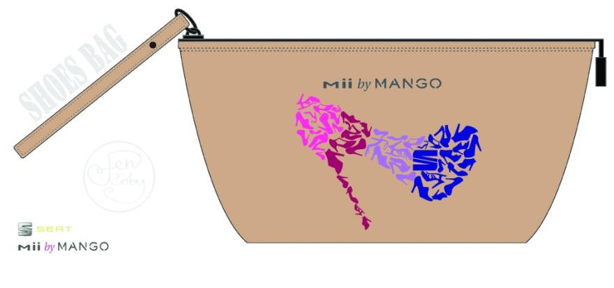 JEN ROBY - Mii MANGO Shoes Bag